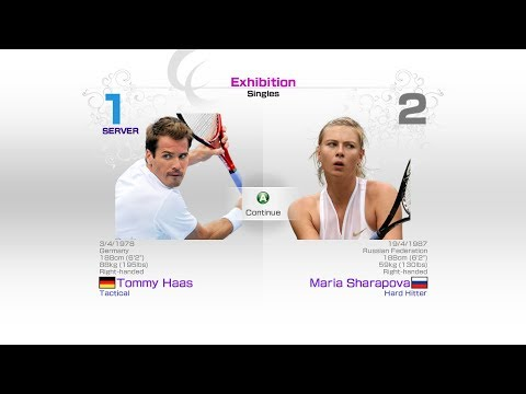 virtua-tennis-4-sega-tommy-haas-vs-maria-sharapova-rafael-nadal-roger-federer-andy-murray