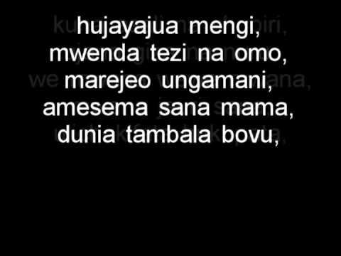 Ali kiba - Mwana Lyrics | Bongo flava