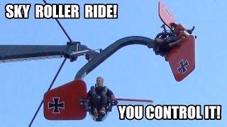 INSANE Sky Roller Vomit-Inducing Ride at Bakken in Denmark!