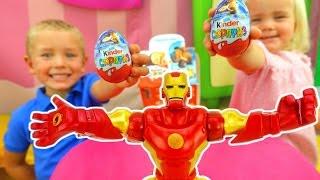 Киндер сюрприз и игрушки из мультфильмов. Ледниковый период