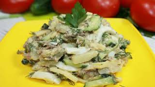 Простой и Вкусный Салат на скорую руку