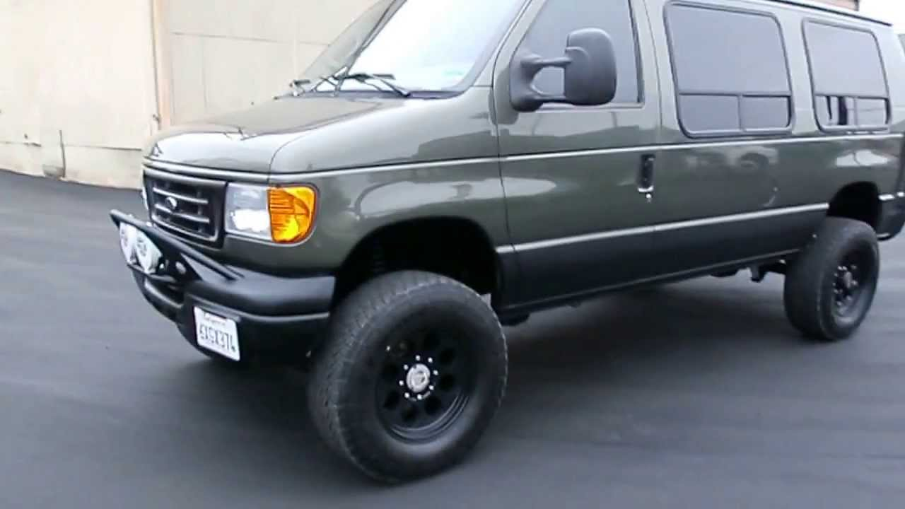 Ford E350 Diesel 6 0 Powerstroke Van 4x4 Done 6 8 2013 Youtube