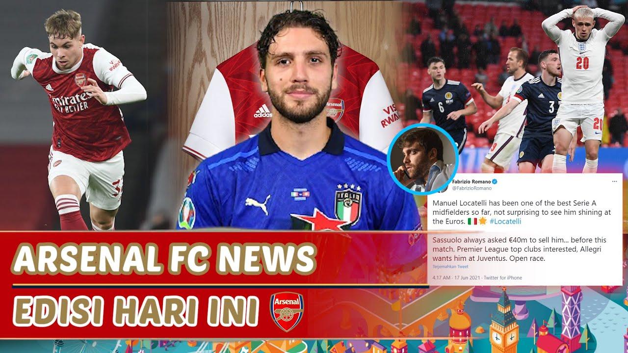 Locatelli tunggu Euro selesai🔴Arsenal tolak tawaran Aston❌Ngapain beli Maddison💸|Berita Arsenal