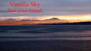 Watch Vanilla Sky Not Your Friend video