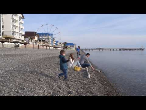 Камни на пляжах? Ужас! Галька или песок,  что лучше? Лазаревское, Сочи, Анапа, Крым.