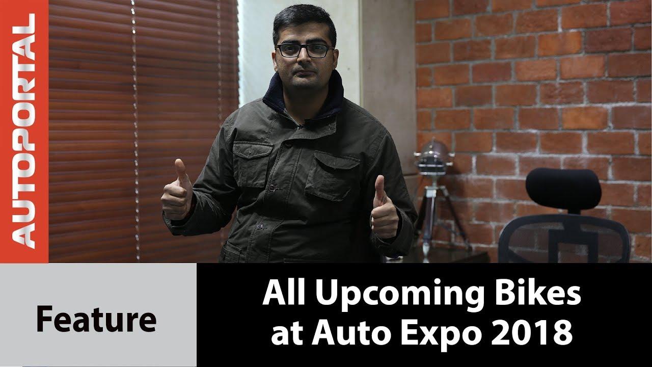All upcoming new bikes at Auto Expo 2018 – Autoportal