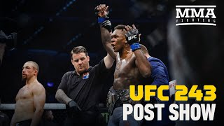 UFC 243 Post-Fight Show - MMA Fighting