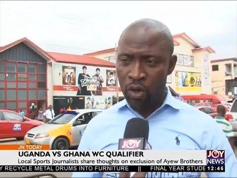 Uganda vs Ghana WC Qualifier - Joy Sports Today (27-9-17)