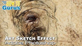 Video Photoshop Sketch : How to do a Pencil Sketch Effect : CC 2018 CS6 CS5 Tutorial download MP3, 3GP, MP4, WEBM, AVI, FLV Juni 2018