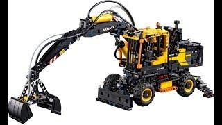 Собираем LEGO TECHNIC 42053 / Экскаватор VOLVO EW160E