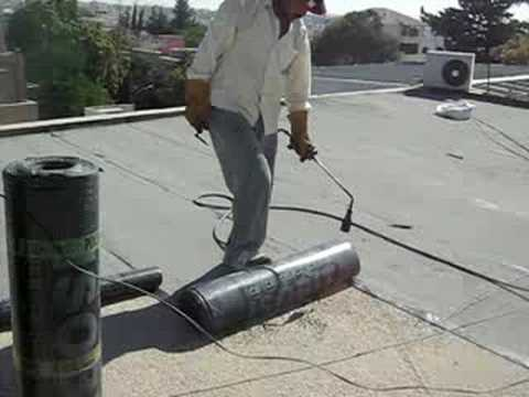 Torch Applied Membranes For Waterproofing Youtube