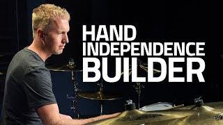 Hand Independence Builder For Beginner Drummers