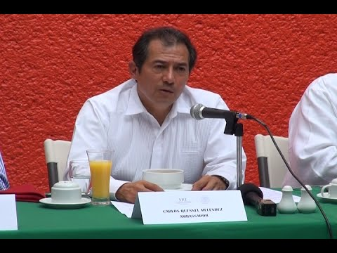 Mexican Ambassador to Belize discusses issues with Belizean media
