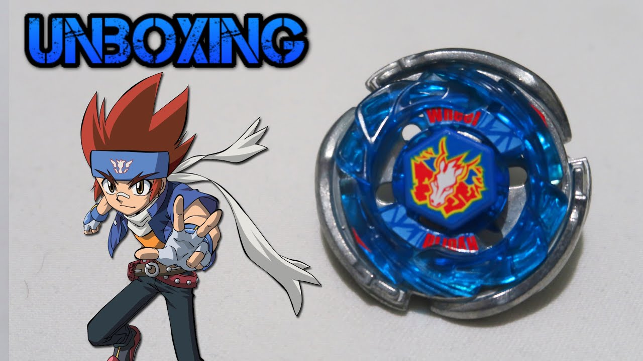 Midfake Storm Pegasus 105RF Unboxing - Beyblade Metal Fusion (Gingka) Takara Tomy New Boy