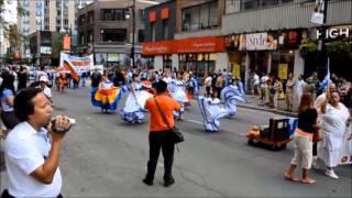 Défilé de l'amitié nuestroamericana - Montréal, 3 août 2013 - El Salvador