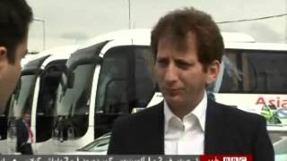 Controversial billionaire Babak Zanjani interviewed by  BBC Persian TV Farhad Farahzad