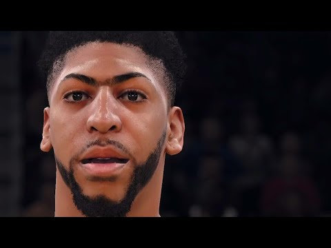 NBA LIVE 18 - New Orleans Pelicans Photo Realistic Player Scans 1080p - HD