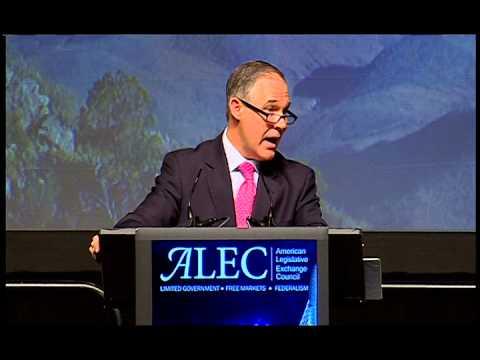 Scott Pruitt 2014 ALEC Annual Meeting