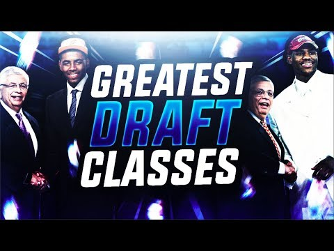 The 5 Best Draft Classes in NBA History