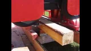 Ron's Bandsaw Mill Videos - Demonstration Video 1