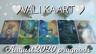 VALI KAART 🤍🐳🌈 August 2020 prognoos