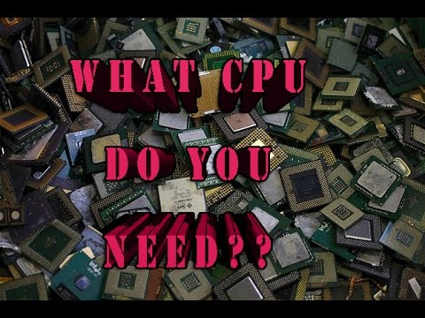 Beginners Guide: How to choose a CPU