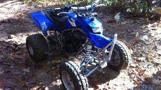 2004 Yamaha Blaster Trail Ride Crash!!