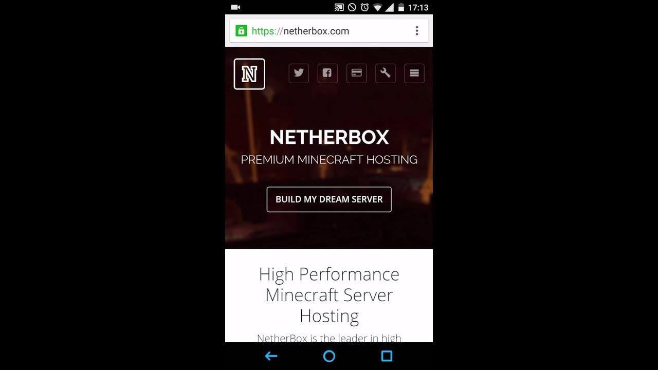 Minecraft Pe Server Erstellen Netherbox Pocketmine LEET HK - Minecraft server erstellen handy