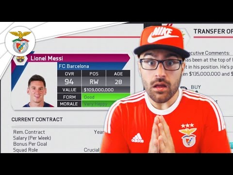 DID EVERYTHING FOR MESSI TO ACCEPT! FIFA 16 Benfica Career Mode #16