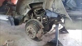 Mercedes-Benz 190 — кузовной ремонт (ч.3)