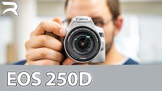 Canon EOS 250D ITA: Anteprima della nuova reflex entry level
