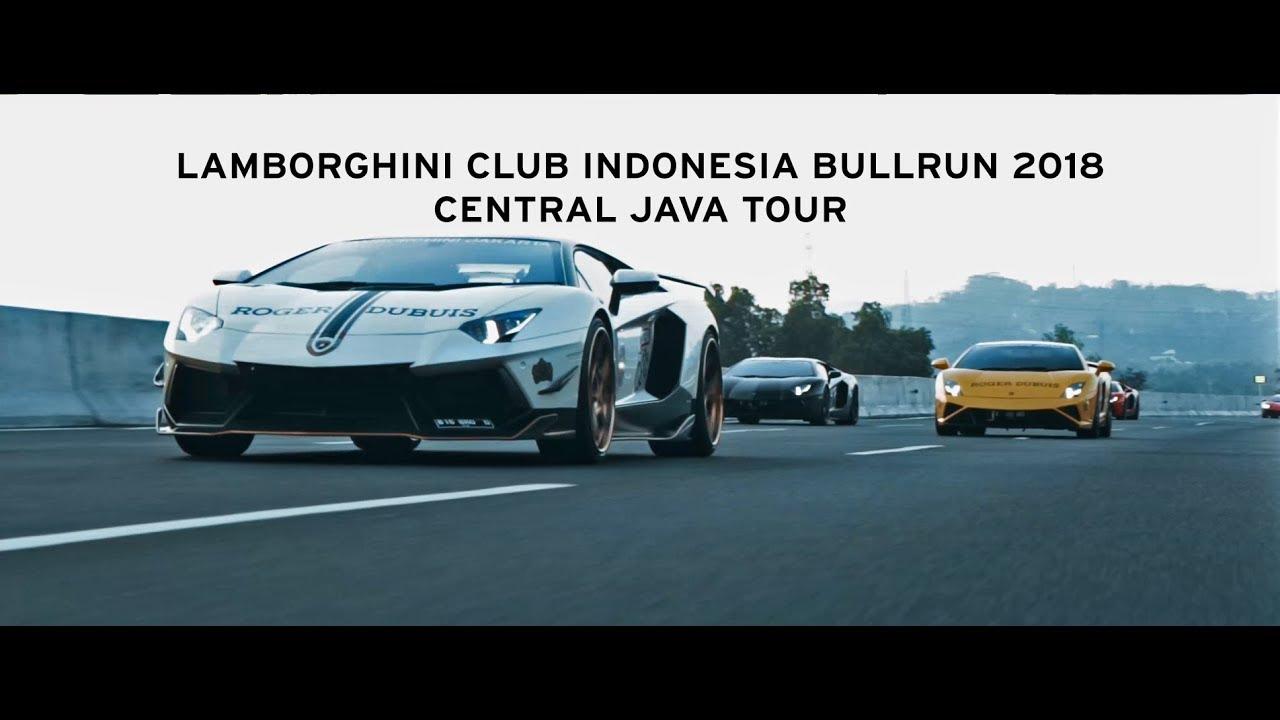 Lamborghini Club Indonesia Bullrun 2018 - Central Java Tour