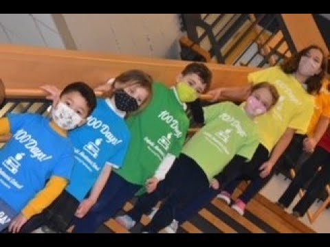 Enfield Montessori Schools meets the Jerusalema Challenge on the 100th day of school.