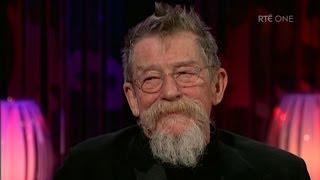 John Hurt talks about aging | The Saturday Night Show