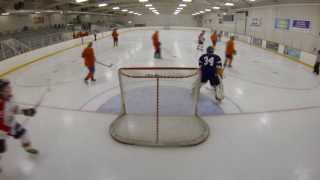 Hockey GoPro Footage - Goaltending - Kodiak October 7 2013