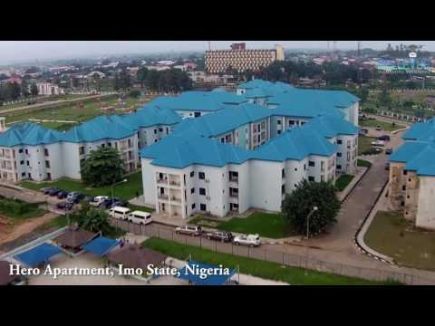 Aerial video of Hero Apartment, Nigeria bellevuesolutions