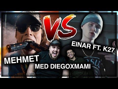 REAGERAR: EINAR - FUSK ft. K27 VS GÖRE FÖR MONEY [ft.DIEGOXMAMI]