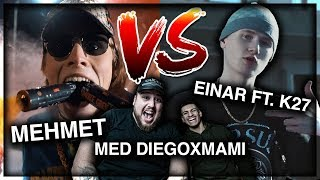 REAGERAR: EINAR - FUSK ft. K27 VS GÖRE FÖR MONEY [ft.DIEGOXMAMI]