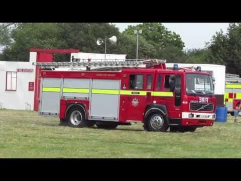LL51 ZNU Ex Hampshire Fire Brigade Volvo FL6 14 / Saxon London's Burning Appliance
