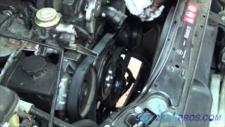 Mercedes serpentine belt for Mercedes benz serpentine belt replacement