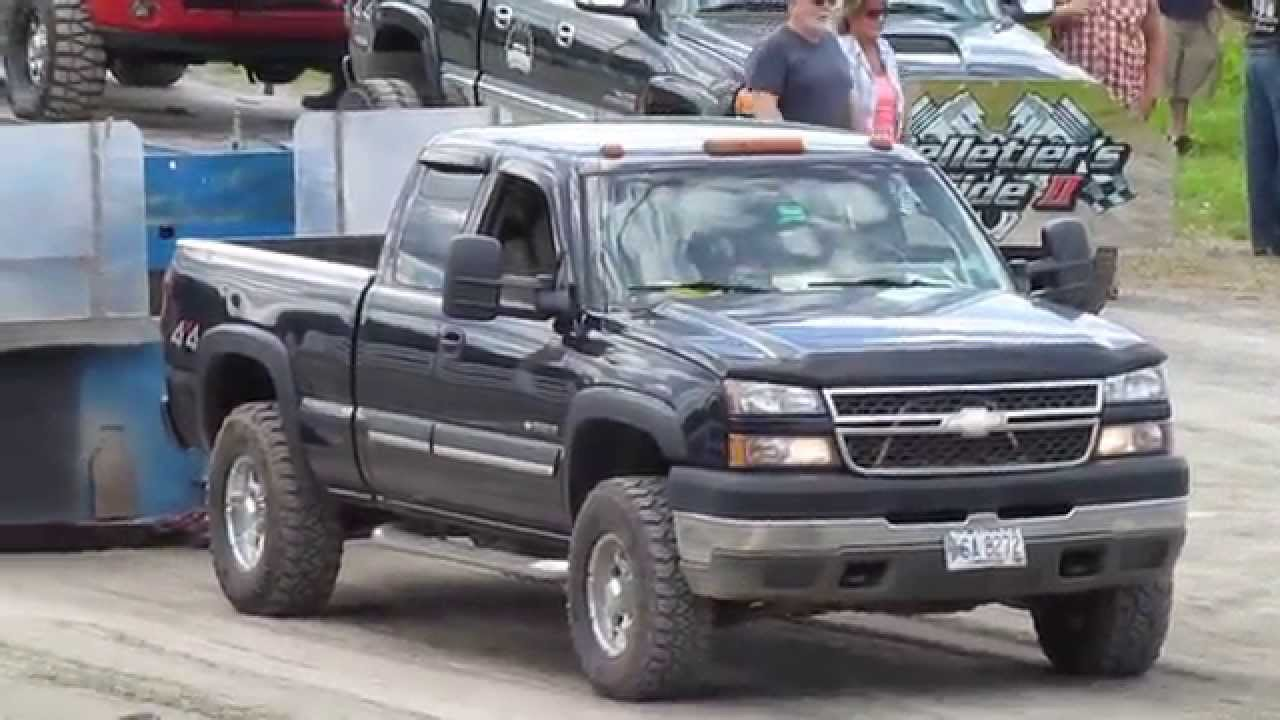 All Chevy chevy 2005 : 2005 Chevy 2500 HD 6.0L Truck Pull - YouTube