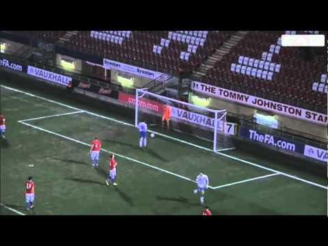 England 2-1 Czech Republic - U19 Goals and full highlights - 28-10-12