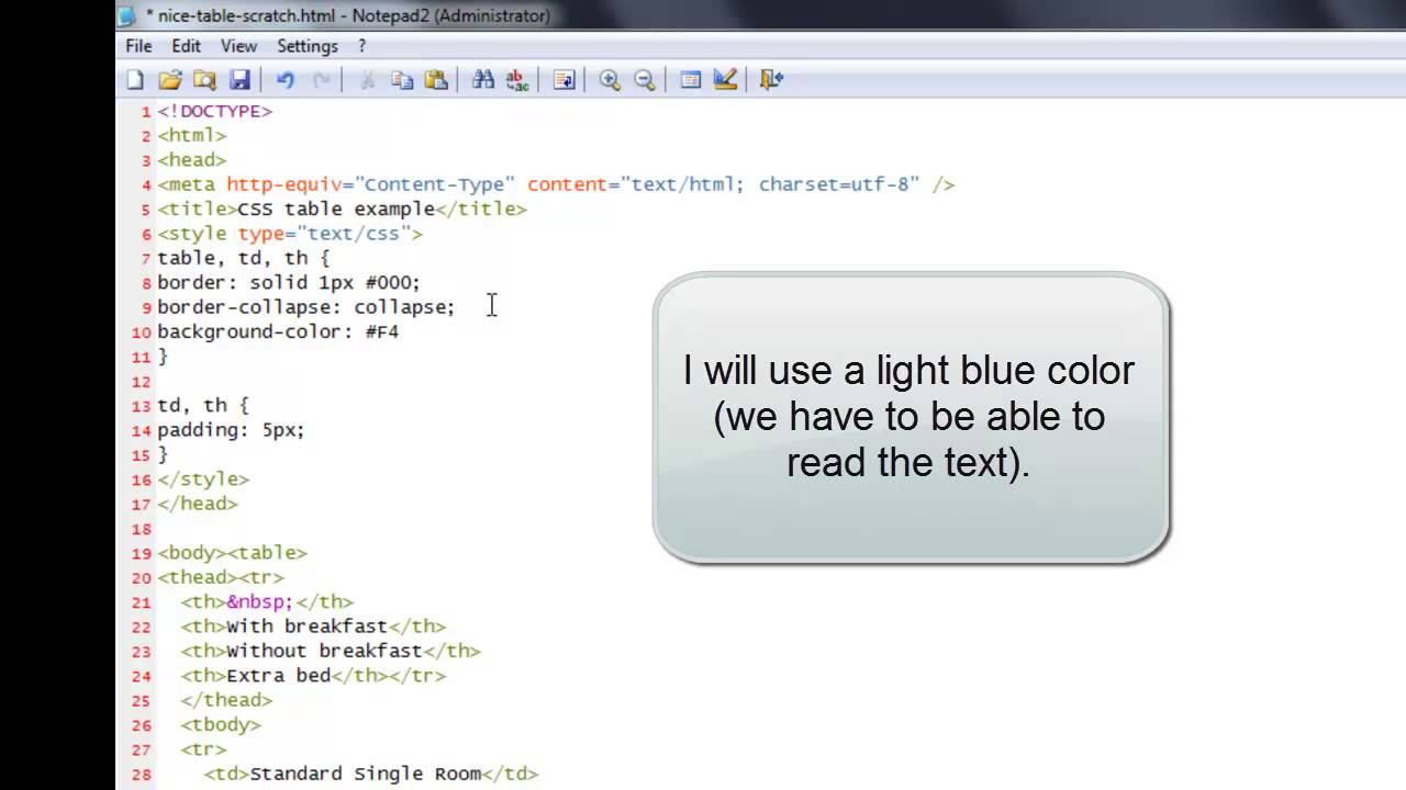 CSS Table tutorial: how to style an HTML table with CSS ...