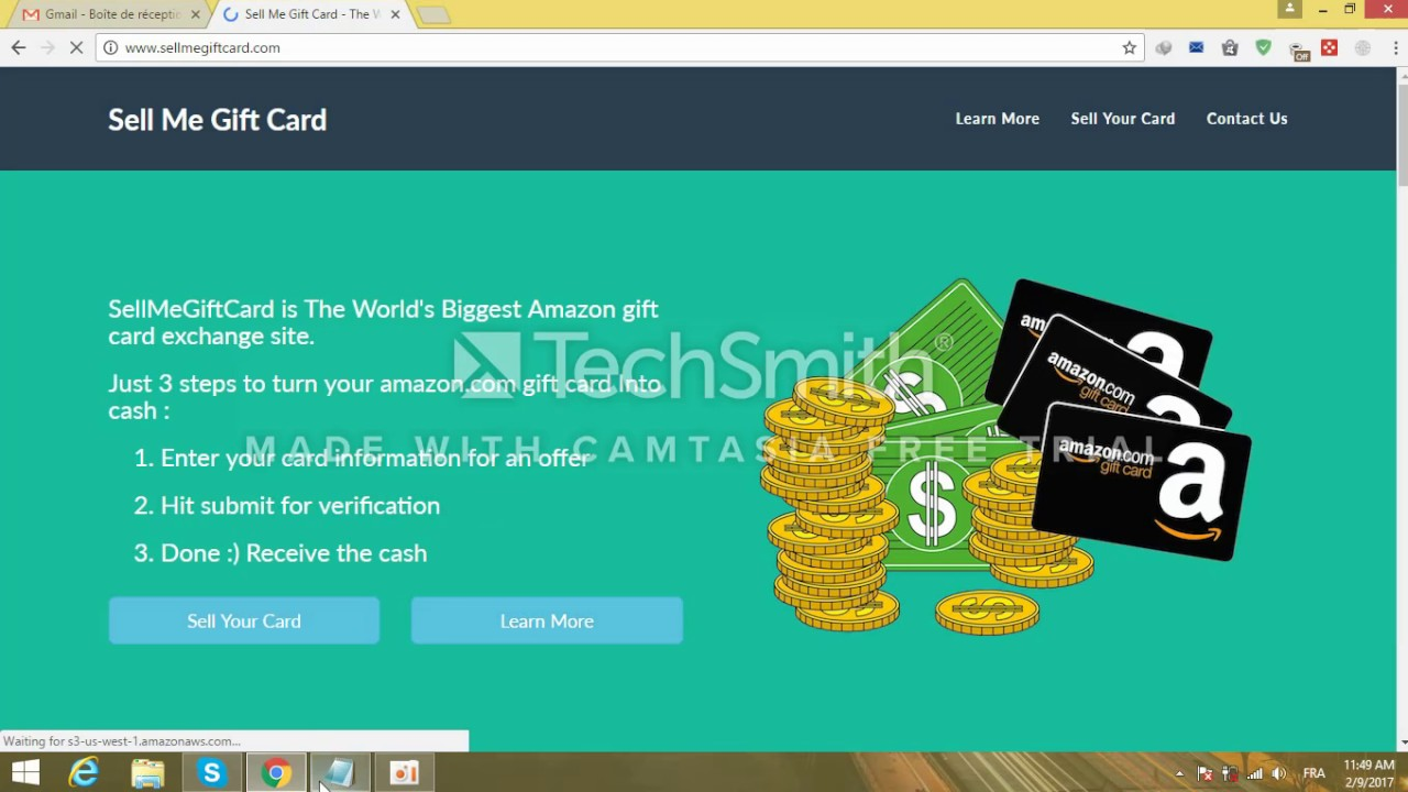 How sell your gift cards and get paid instantly via Paypal ...