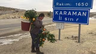 Muhtar Ferhat Sayman Meyve ve Sebze Üreticileri İçin Yollara Düştü!
