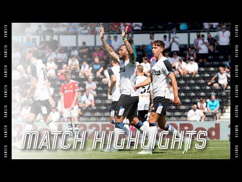MATCH HIGHLIGHTS | Derby County v Manchester United