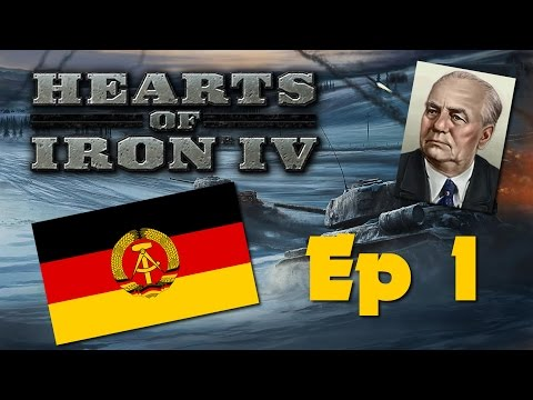 Hearts of Iron IV - Communist Germany - Ep 1