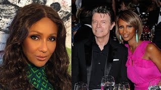 Two Years After David Bowie's D.eath,Iman Revealed The H-artrending Vow She Made To Her L-te Husband
