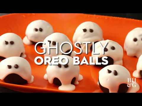 Halloween Oreo Ball Ghosts | Fun With Food | Better Homes & Gardens