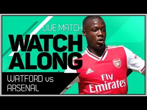 Watford Vs Arsenal With Mark Goldbridge LIVE